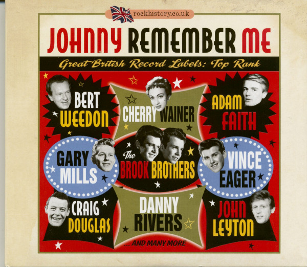 Johnny Remember Me - Great British Record Labels: Top Rank (2-CD)