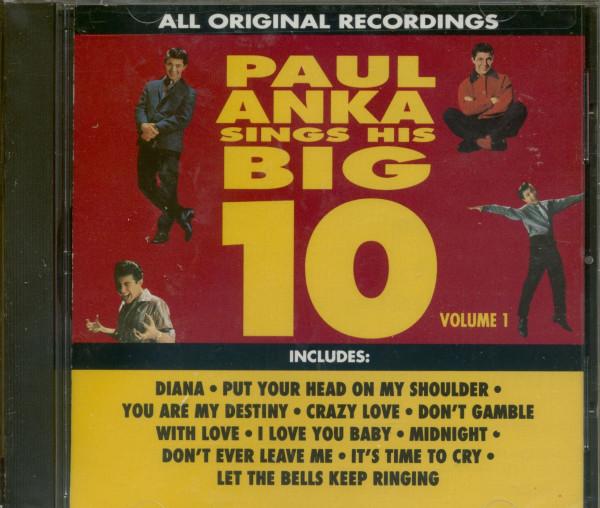 Sings His Big 10 Vol.1 (CD)