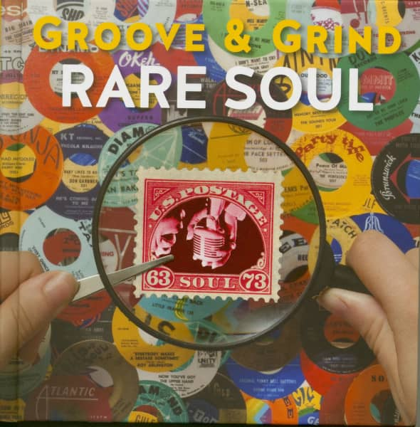 Rare Soul Groove & Grind 1963 - 1973 (4-CD Hardcoverbook)