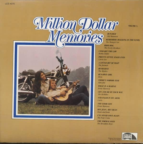 Million Dollar Memories, Vol.3 (LP)