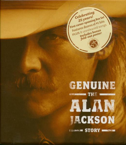 Genuine - The Alan Jackson Story (3-CD)