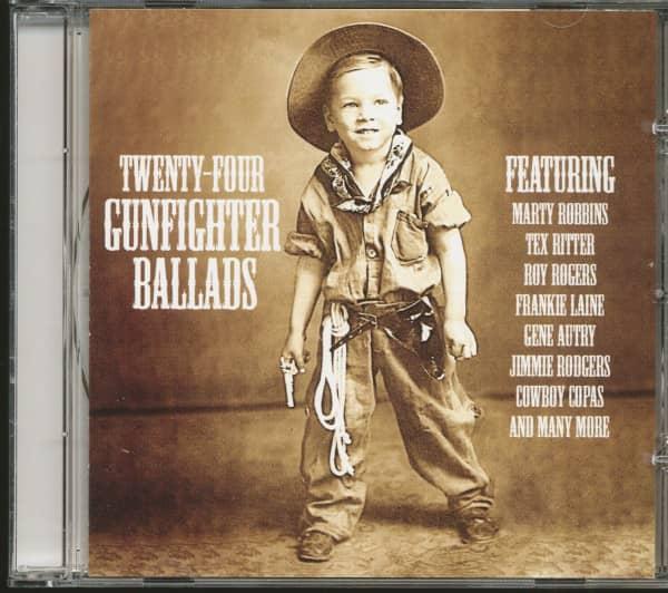 Twenty-Four Gunfighter Ballads (CD)