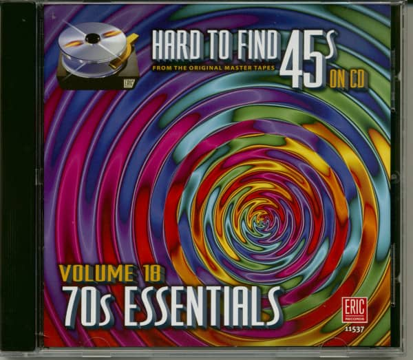 Hard To Find 45s On Cd 18 - 70s Essentials (CD)