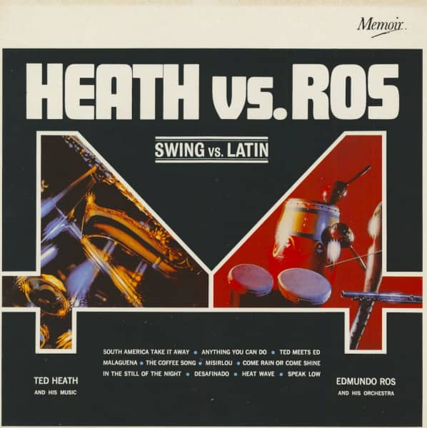 Swing vs. Latin - Edmundo Ros and Ted Heath (LP)