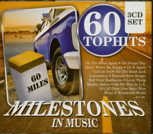 Milestones In Music - 60 Top Hits (3-CD)