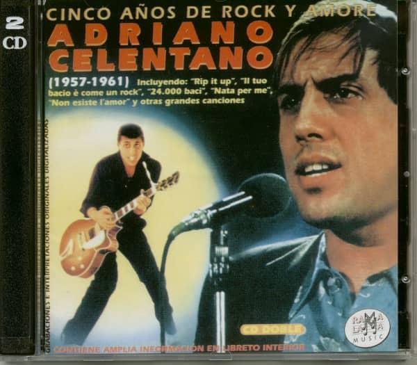Cinco Anos De Rock Y Amore (2-CD)