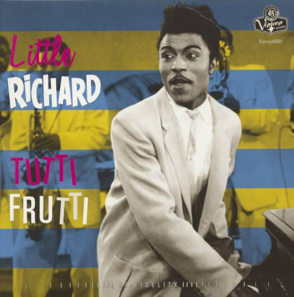 Tutti Frutti - Ready Teddy (7inch, 45rpm, PS)