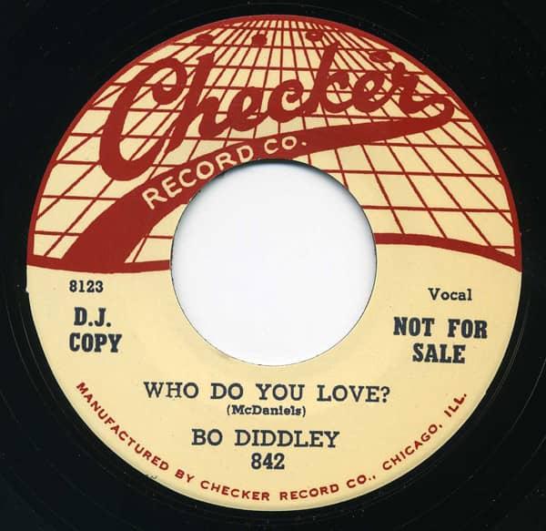 Who Do You Love - Mona (7inch, 45rpm)