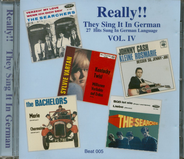 Really!! They Sing It In German Vol.4 (CD)