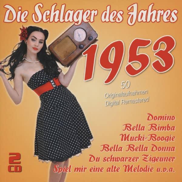 Die Schlager des Jahres 1953 (2-CD)