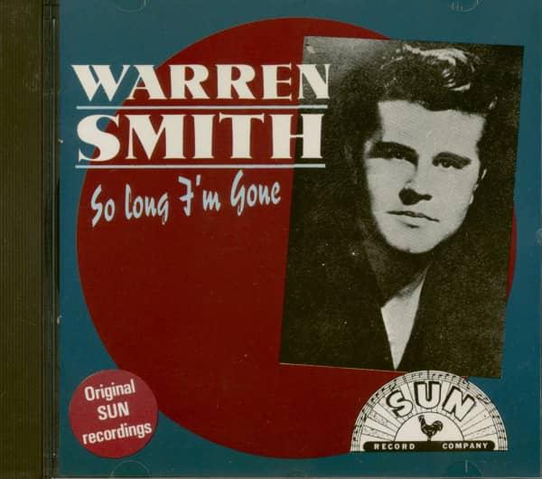 So Long I'm Gone (CD)
