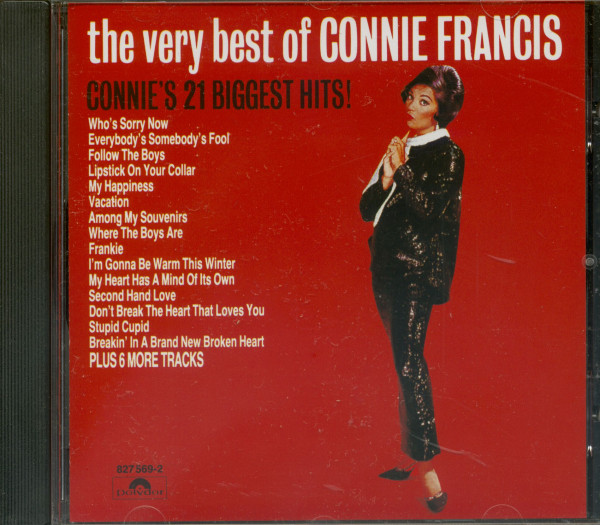 The Very Best Of Connie Francis - Connie's 21 Biggest Hits (CD)