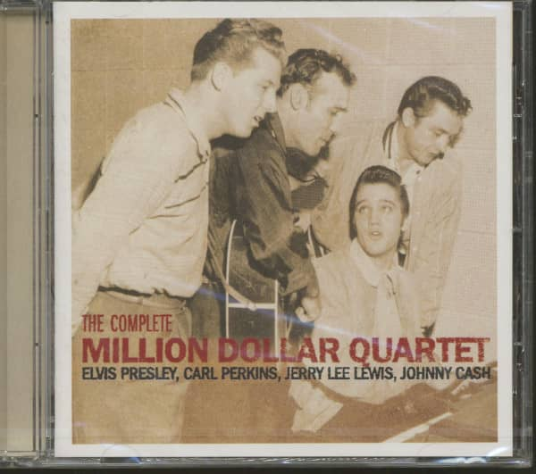 The Complete Million Dollar Quartet - EU 2006 (CD)