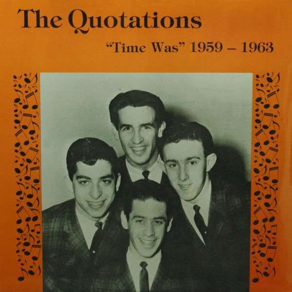 Time Was: 1959-1963