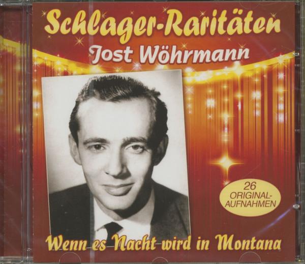 Wenn es Nacht wird in Montana - Schlager Raritäten (CD)