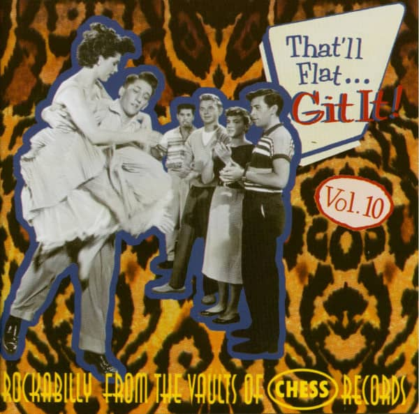 Vol.10 - Rockabilly From The Vaults Of Chess Records (CD)