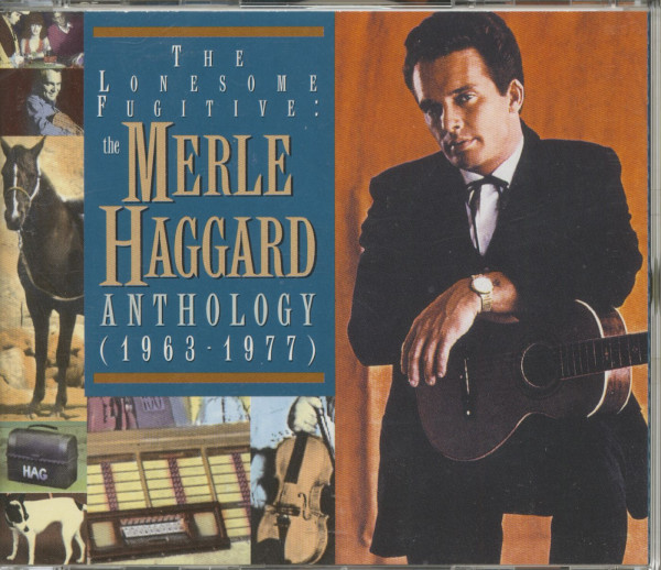 The Lonesome Fugitive - The Merle Haggard Anthology 1963-77 (2-CD)