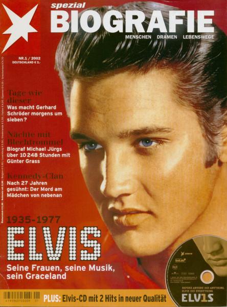 Stern Spezial Biografie #1 - Elvis Presley (inkl.CD)