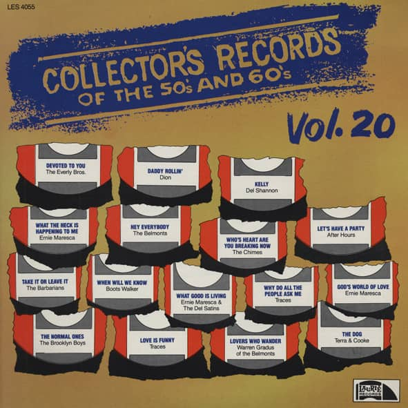 Collector's Records Of The 50s & 60s Vol.20