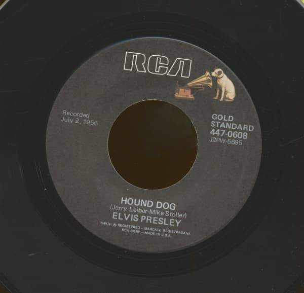 Hound Dog - Don't Be Cruel (7inch, 45rpm)