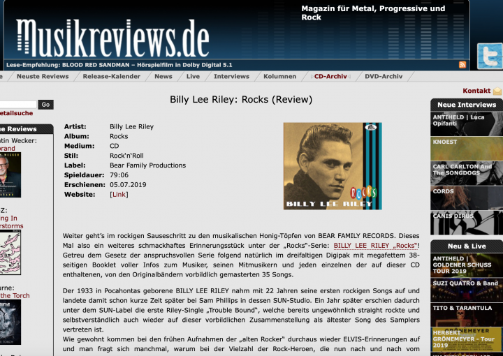 Presse-Archiv-Billy-Lee-Riley-Billy-Lee-Riley-Rocks-musikreviews