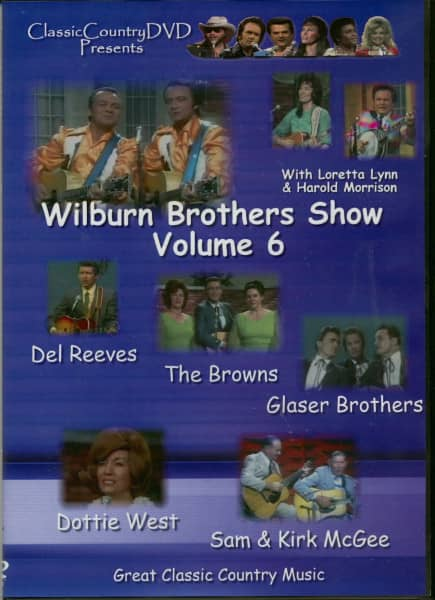 Vol.06, Wilburn Brothers Show (1966-1968)