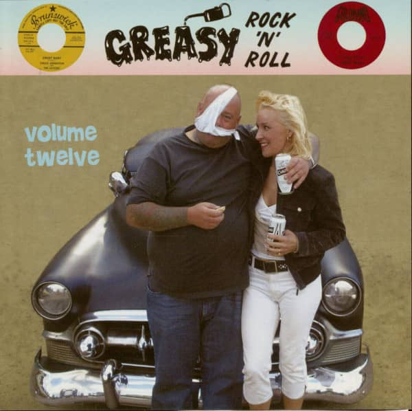 Greasy Rock'n'Roll Vol.12 (CD)