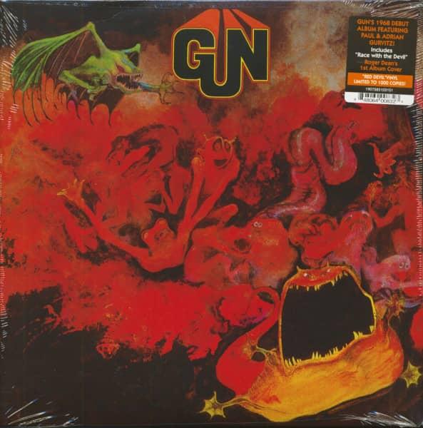 Gun (LP, Red Devil Vinyl, Ltd.)