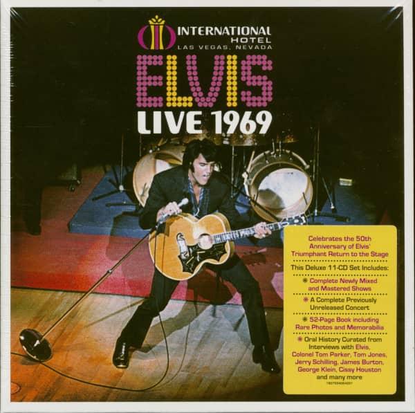 Elvis Live 1969 (11-CD)