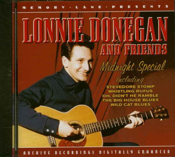 Lonnie Donegan And Friends - Midnight Special (CD)