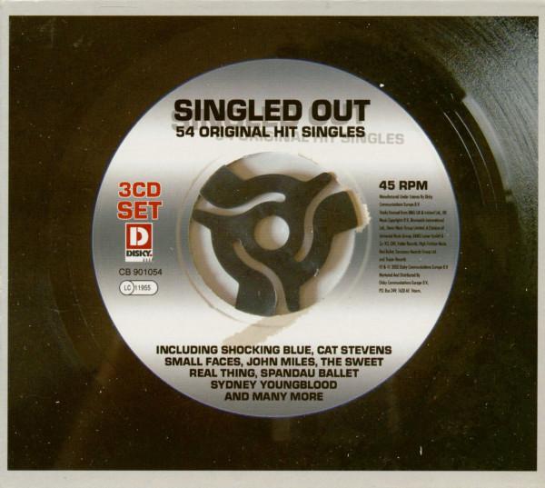 Singled Out - 54 Original Hit Singles (3-CD)
