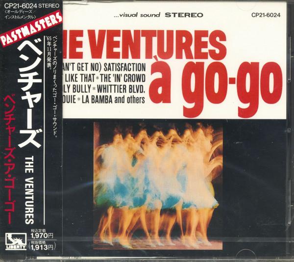 The Ventures A Go-Go (CD, Japan)