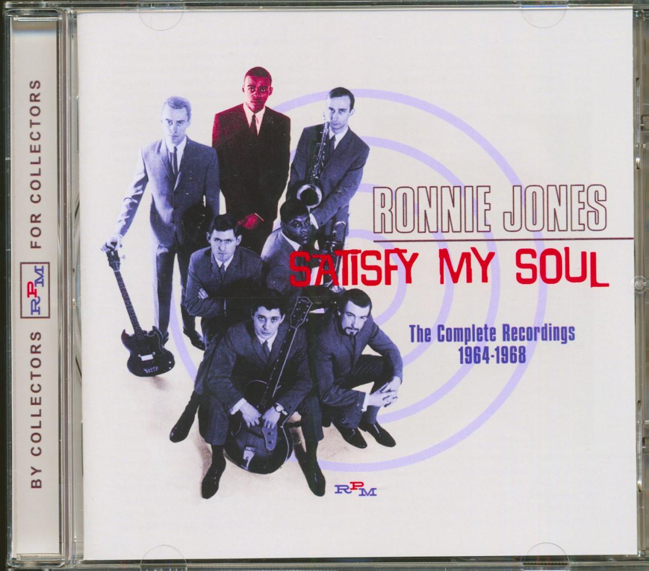 Ronnie Jones - Satisfy My Soul - The Complete Recordings 1964-1968 (CD)
