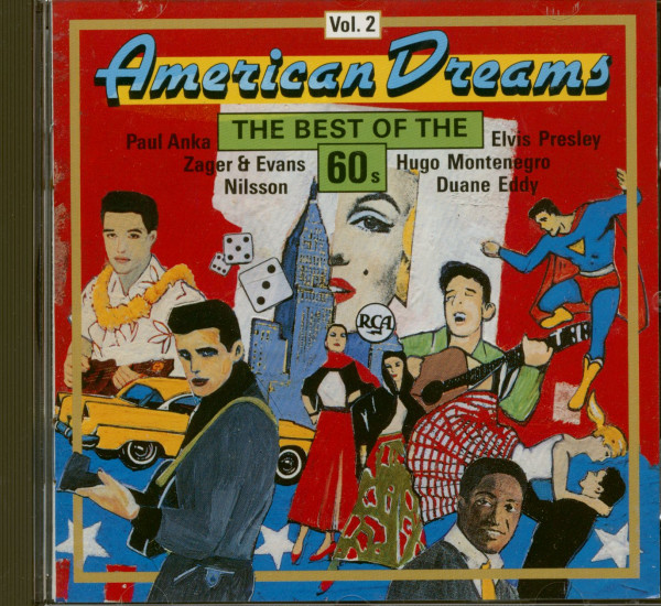 American Dreams - The Best Of The 60s Vol.2 (CD)
