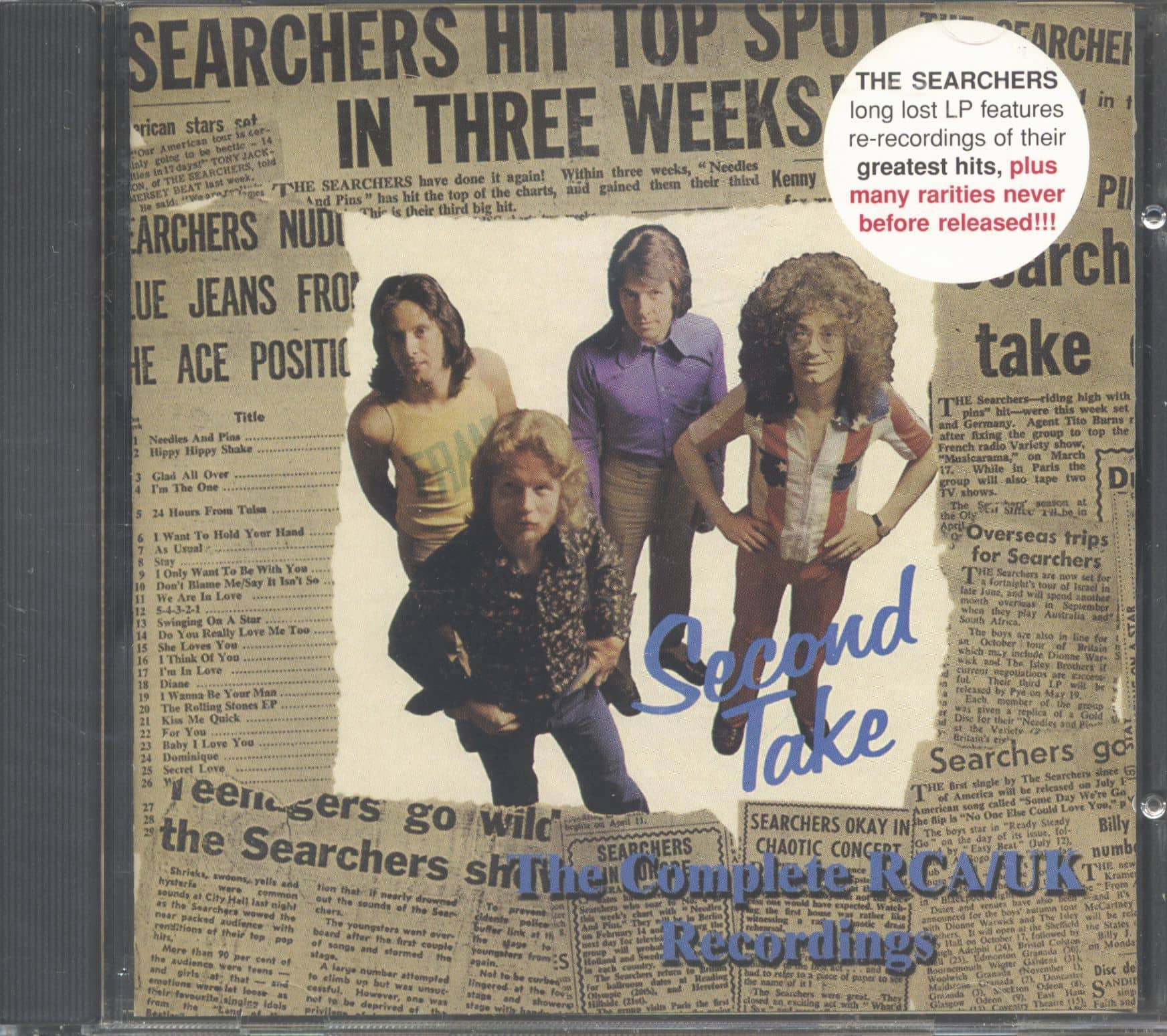 The Searchers Cd Second Take The Complete Rca Uk
