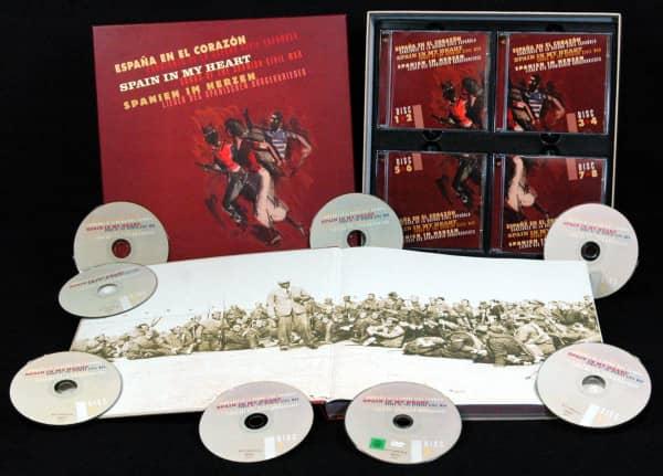 Spanien im Herzen - Lieder des Spanischen Bürgerkrieges (7-CD - 1-DVD Deluxe Box Set)