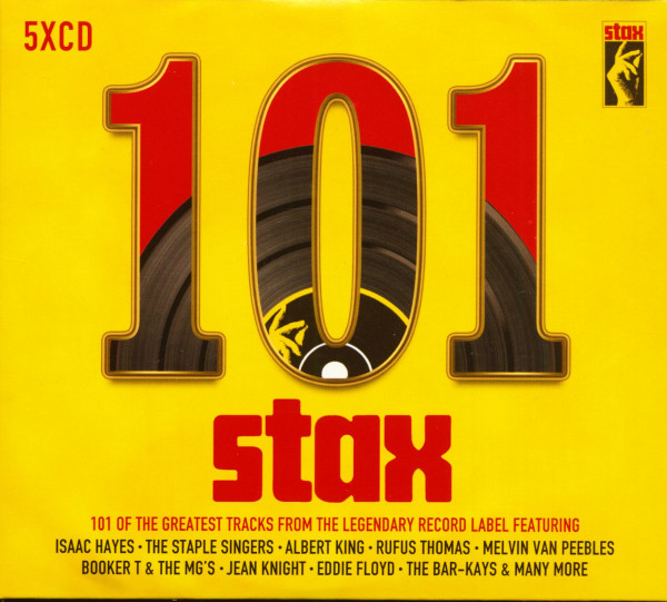 101 Stax - The Greatest Tracks From The Legendary Record Label (5-CD)