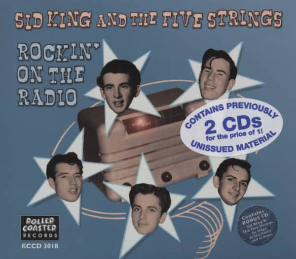 Sid King And The Five Strings - Rockin' On The Radio (2-CD)