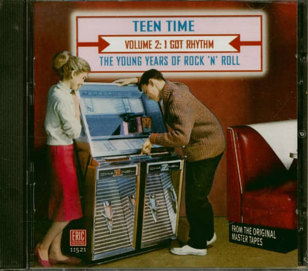 Teen Time Vol.2 - The Young Years Of Rock & Roll (CD)