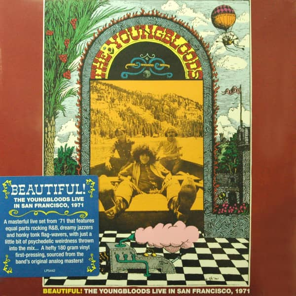 Beautiful! The Youngbloods Live In San Francisco, 1971 - 180g Vinyl Gatefold - Klappcover