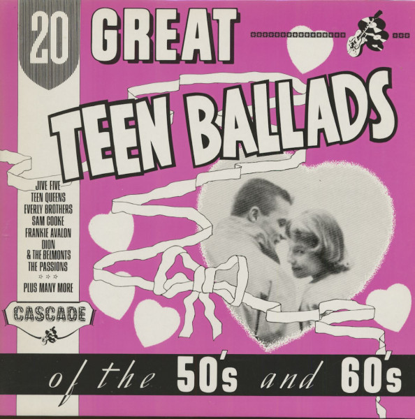 20 Great Teen Ballads Of The 50's And 60's (LP)