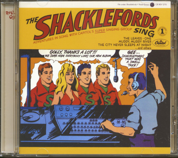 The Shacklefords Sing (CD)
