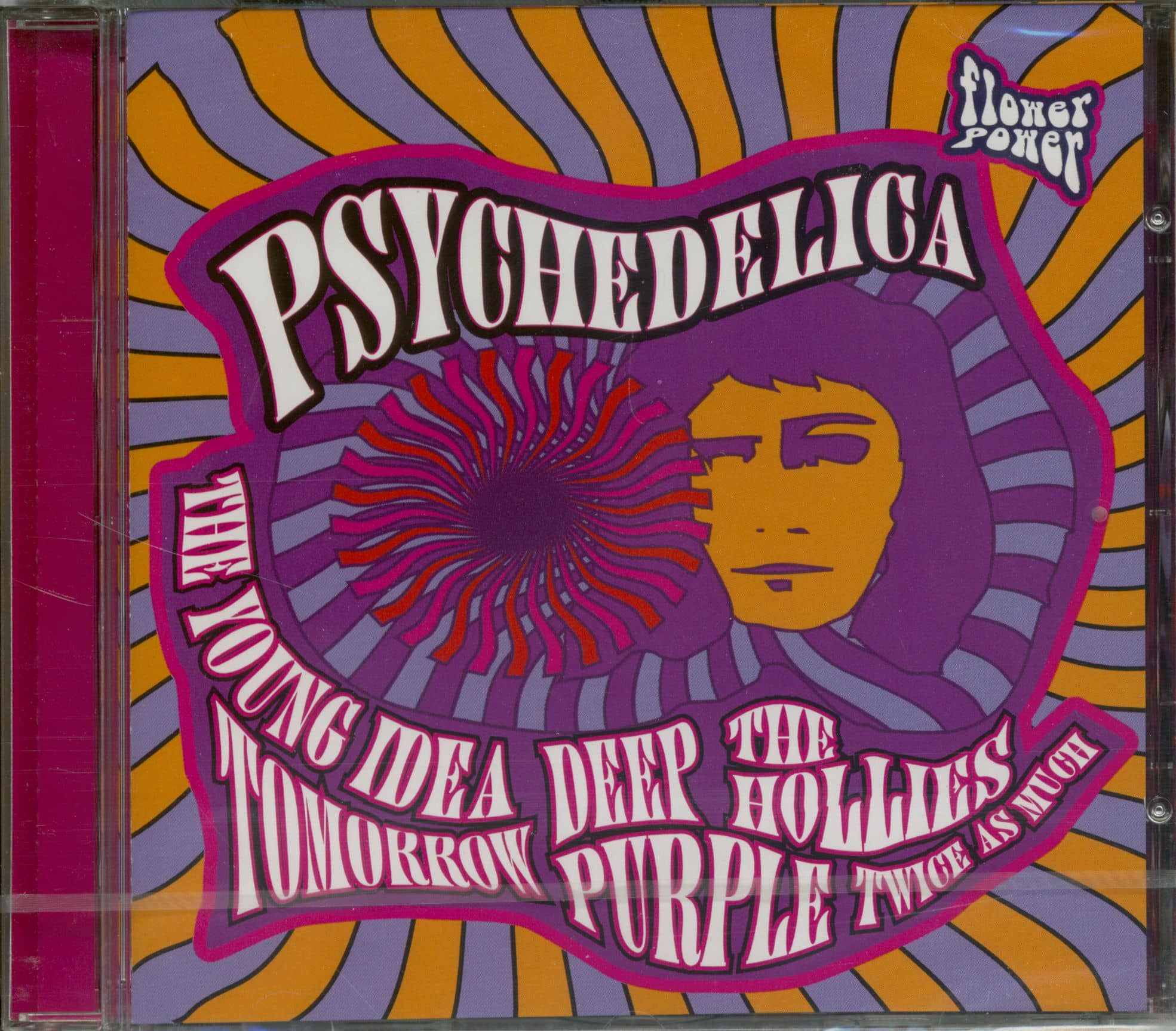 Various Cd Psychodelica Bear Family Records