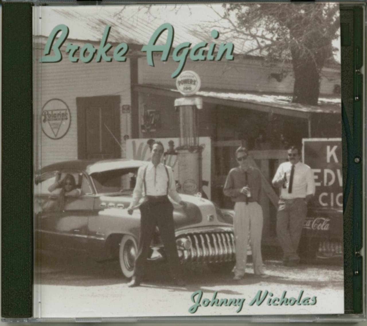 Johnny Nicholas - Broke Again (CD)