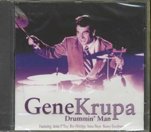 Drummin' Man (CD)
