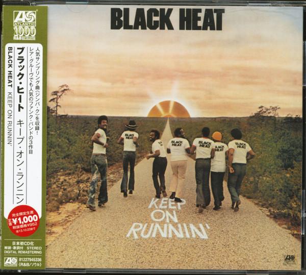Keep On Runnin' (CD, Japan)