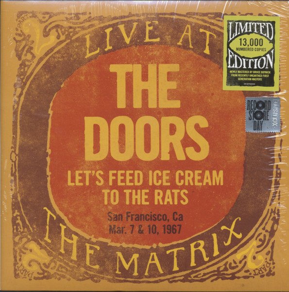 Let's Feed Ice Cream To The Rats - Live At The Matrix Part 2 (LP, Numbered Record Store Day Edition,