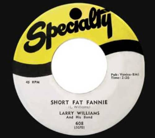 Short Fat Fannie - High SChool Dance 7inch, 45rpm