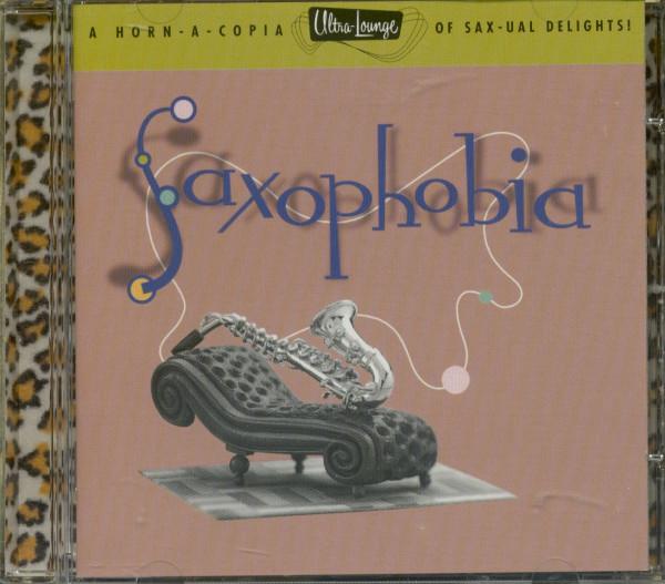 Vol.12, Ultra Lounge - Saxophobia (CD)