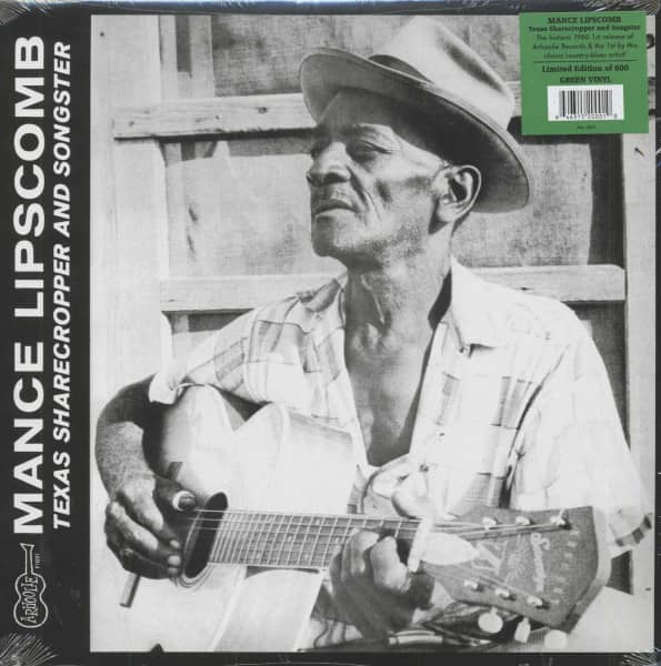 Texas Sharecropper And Songster (LP)